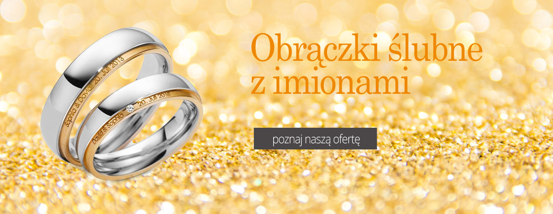Obrączki ślubne z imionami - Leodiamonds Koszalin