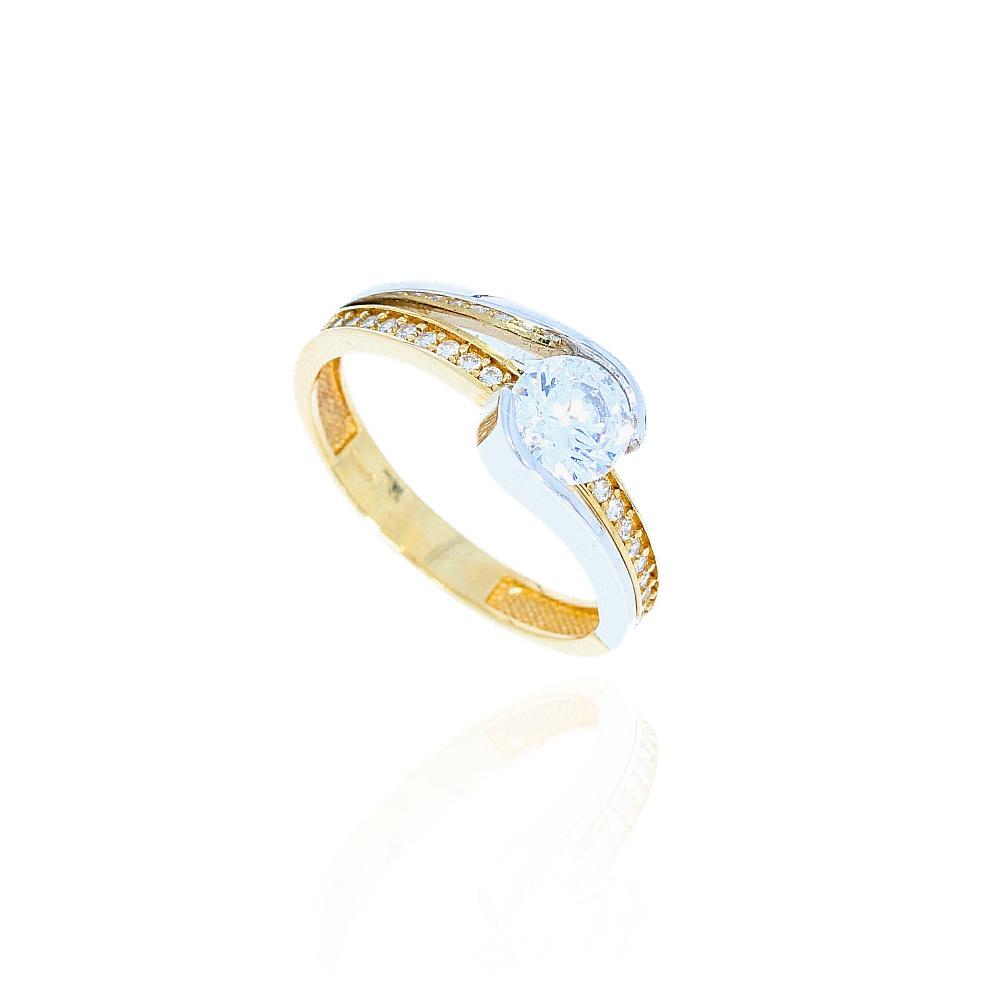 90c1f425f4ca3b Pierścionek złoty 585 na zaręczyny | Leo Diamonds - biżuteria ...