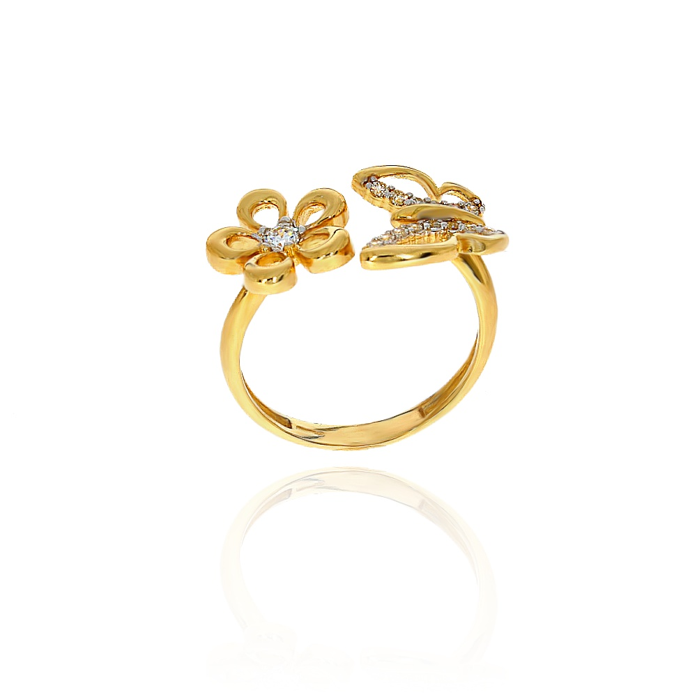 c4de0a5fb1756b Pierścionek złoty 585 hit | Leo Diamonds - biżuteria, jubiler ...